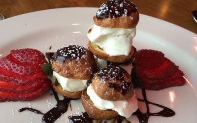 Profiteroles? … Yes, Please!